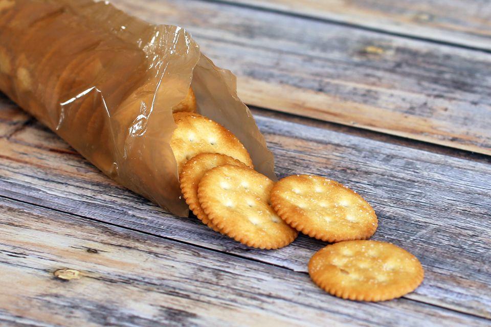 Ritz Crackers - Mock Pecan Pie