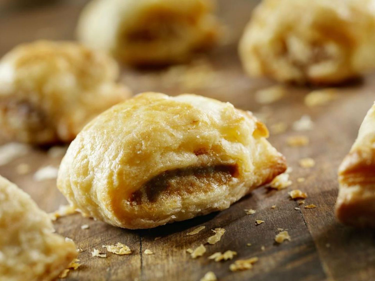 Nutella Pastry Puffs