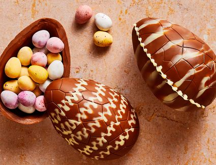 hollow chocolate easter egg hero