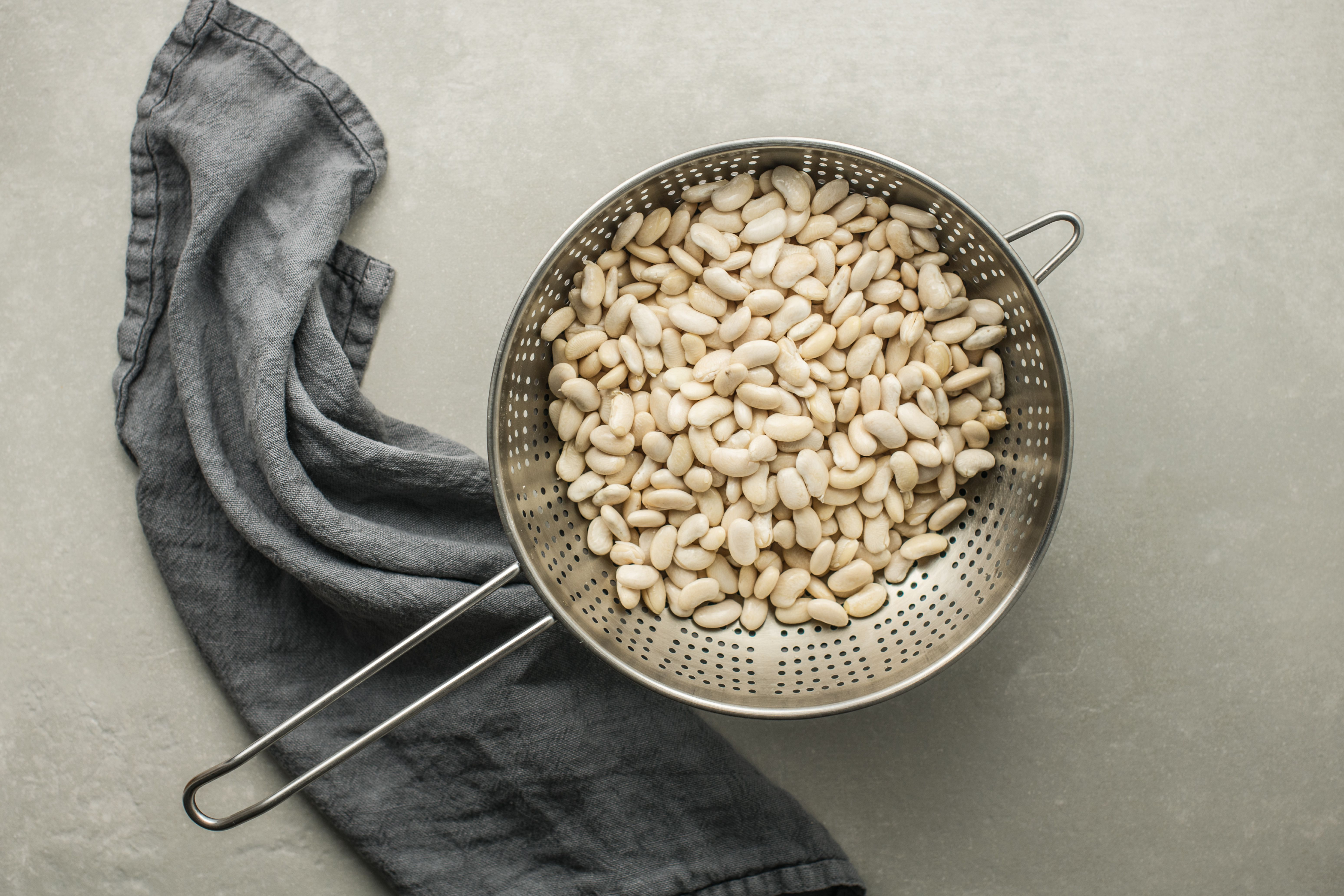Soak the beans in water