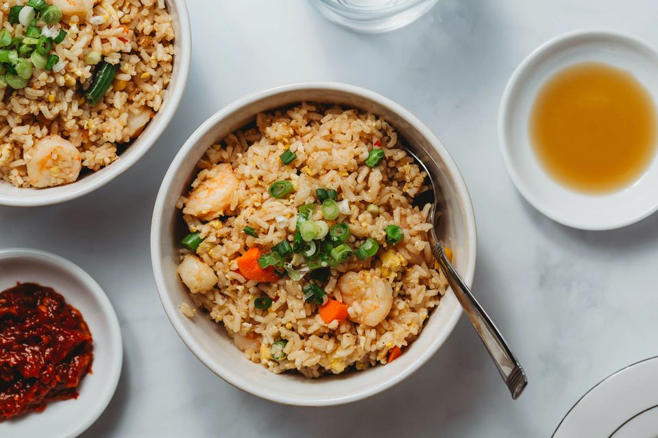 Thai Fried Rice With Shrimp (Khao Phad Kung)