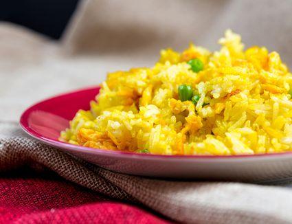 Thai yellow fried rice