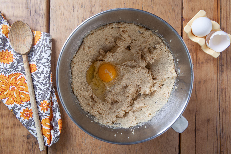 Butterscotch Cookies dough