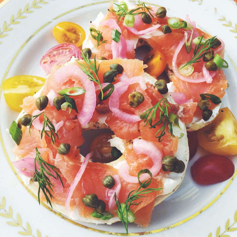 The Ultimate Smoked Salmon Bagel