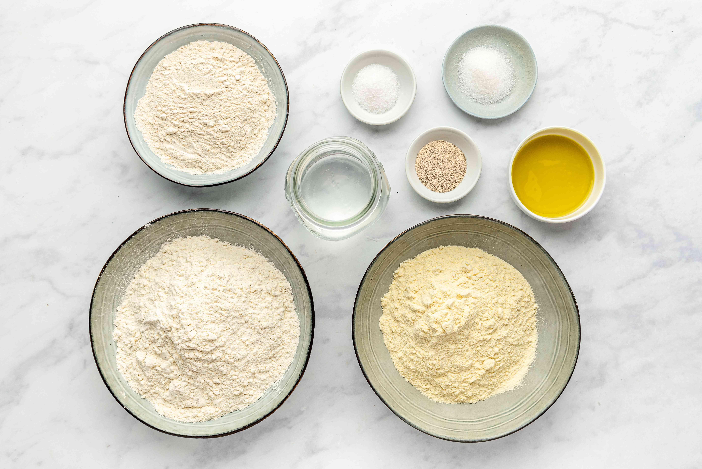 Moroccan Pita Bread (Batbout) Recipe ingredients