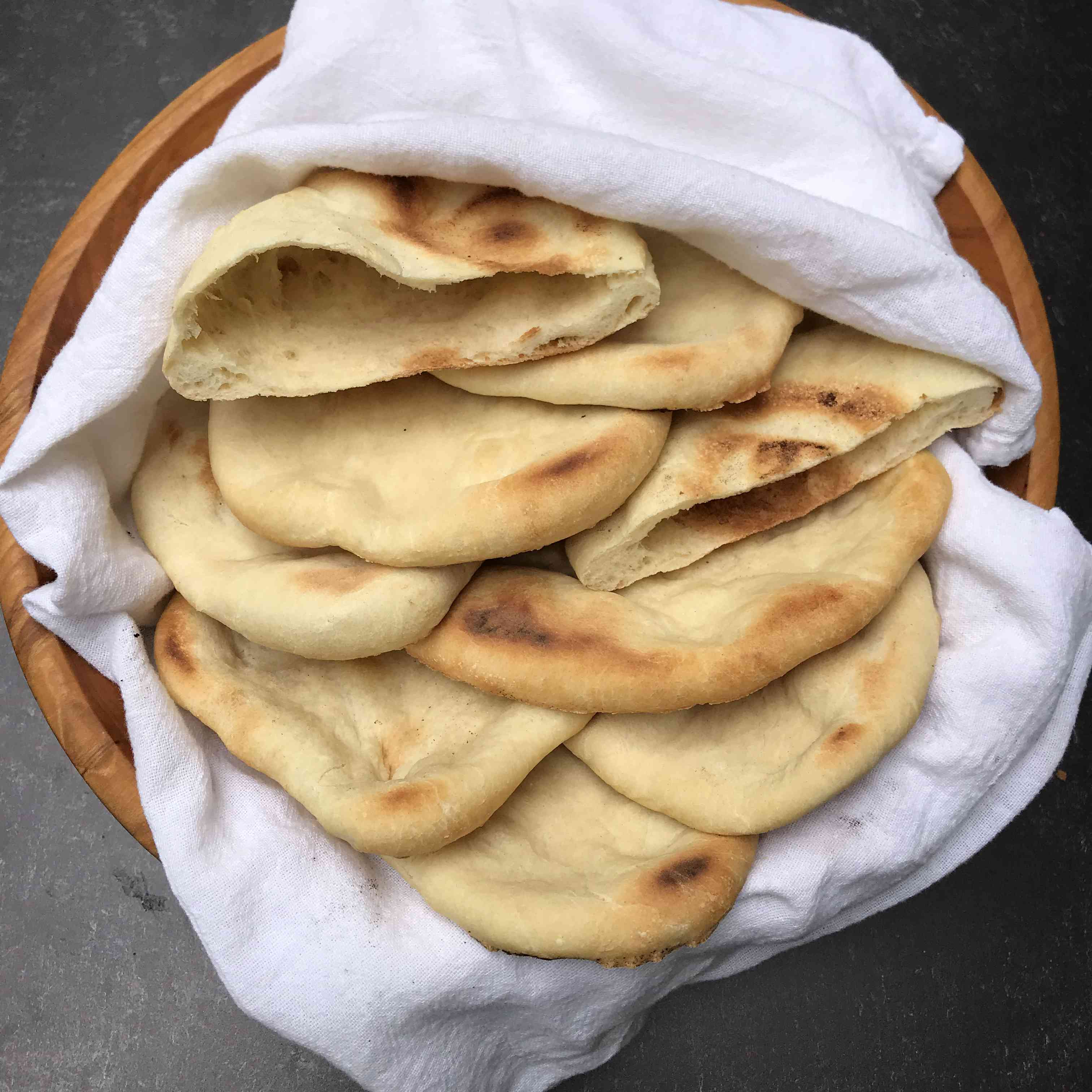 Quick and Easy Homemade Pita Bread Tester Image