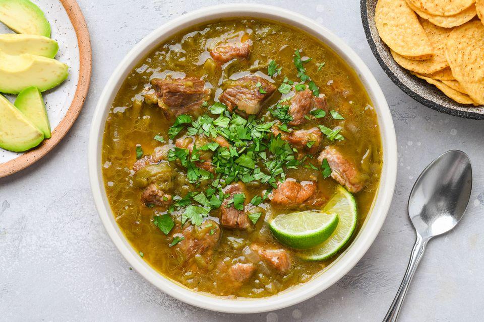 New Mexico Style Pork Green Chili
