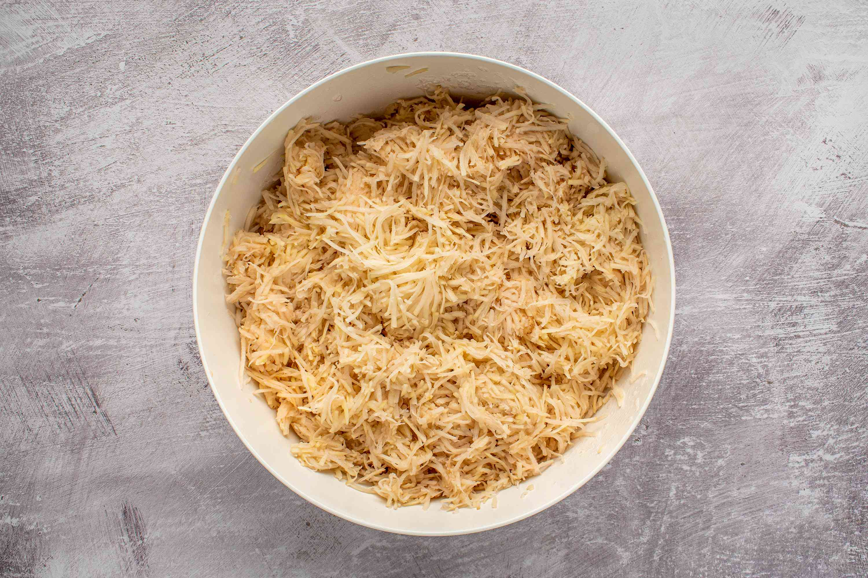 potato mixture in a bowl