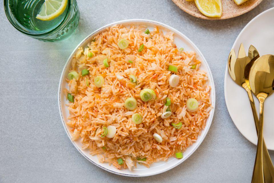Filipino Garlic Fried Rice With Crab Paste