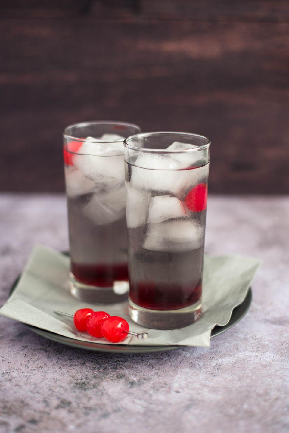 Black magic cocktail recipe
