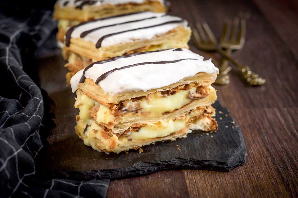 Napoleon pastry (Mille-feuille)