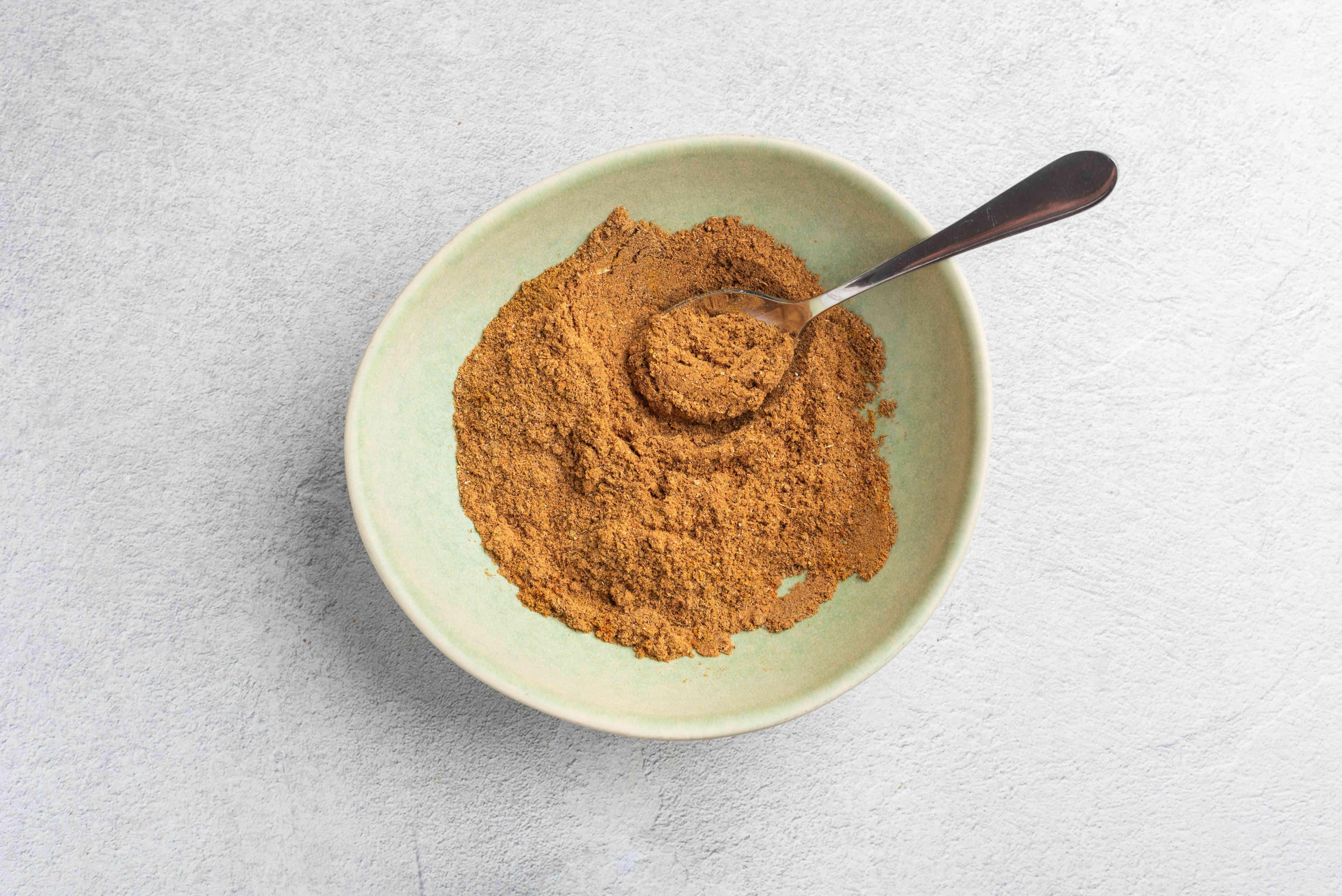 Mix the turmeric