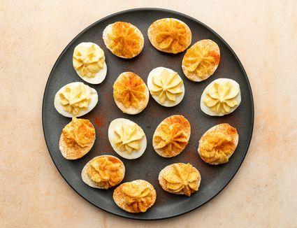 Creamy Deviled Eggs With Cream Cheese