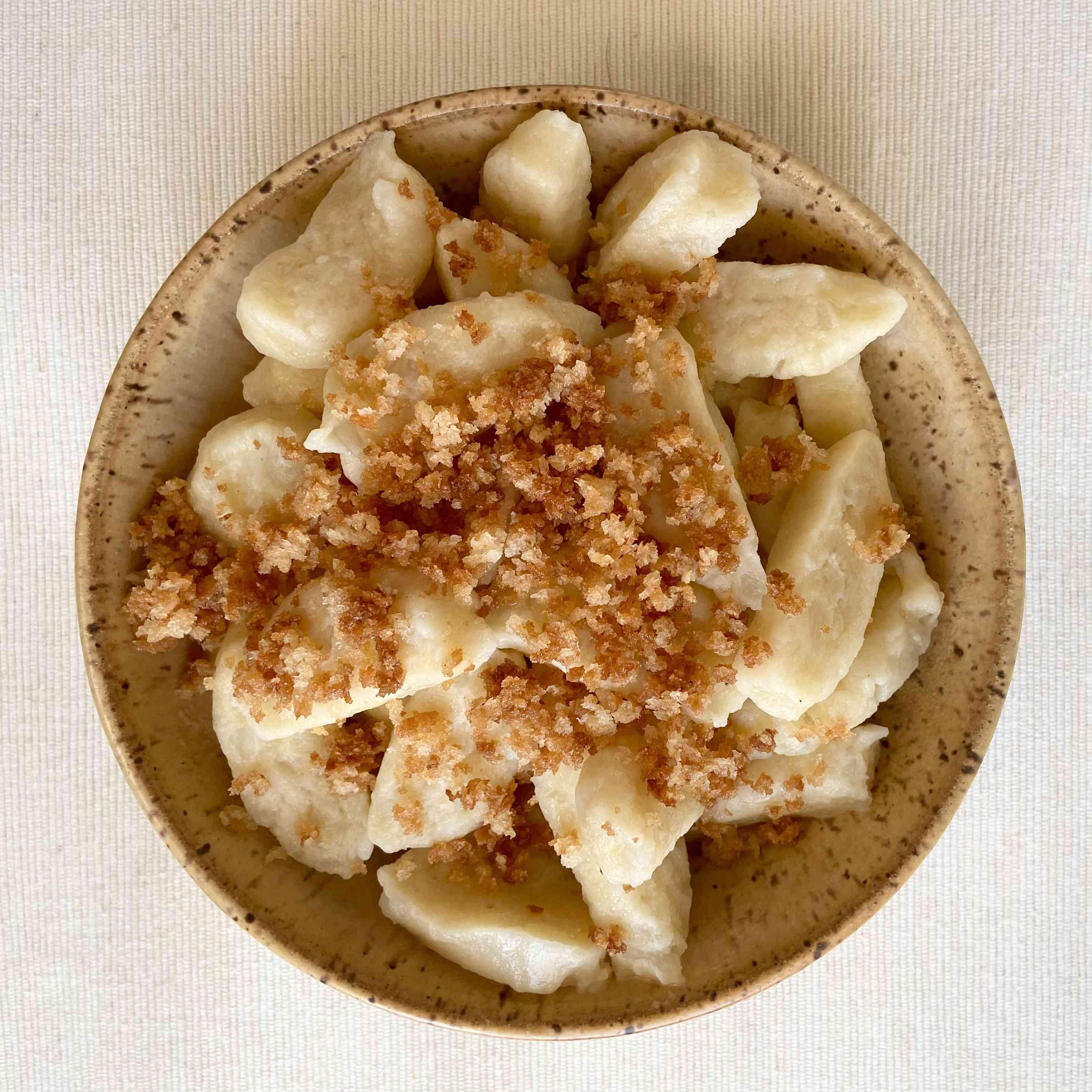 Polish mashed potato dumplings