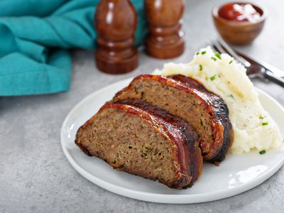 crack meatloaf muffins