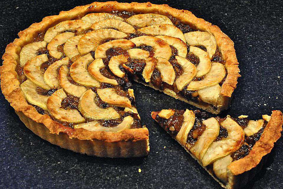 Apple Mincemeat Tart