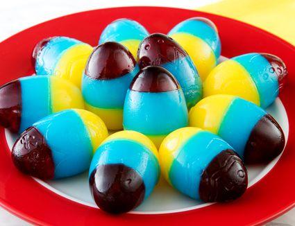 Sparkling Jello Easter Eggs