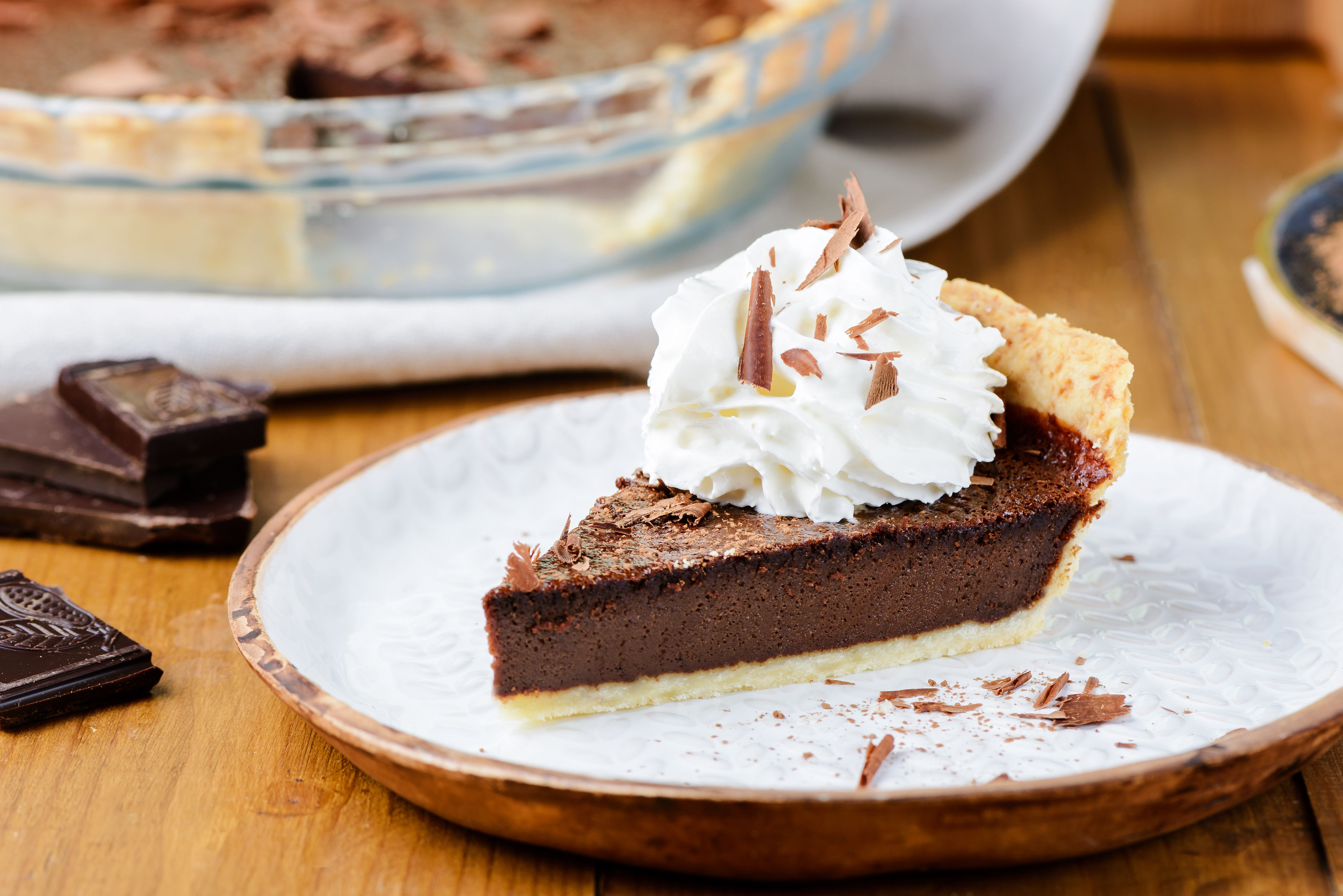 Southern Chocolate Chess Pie Recipe