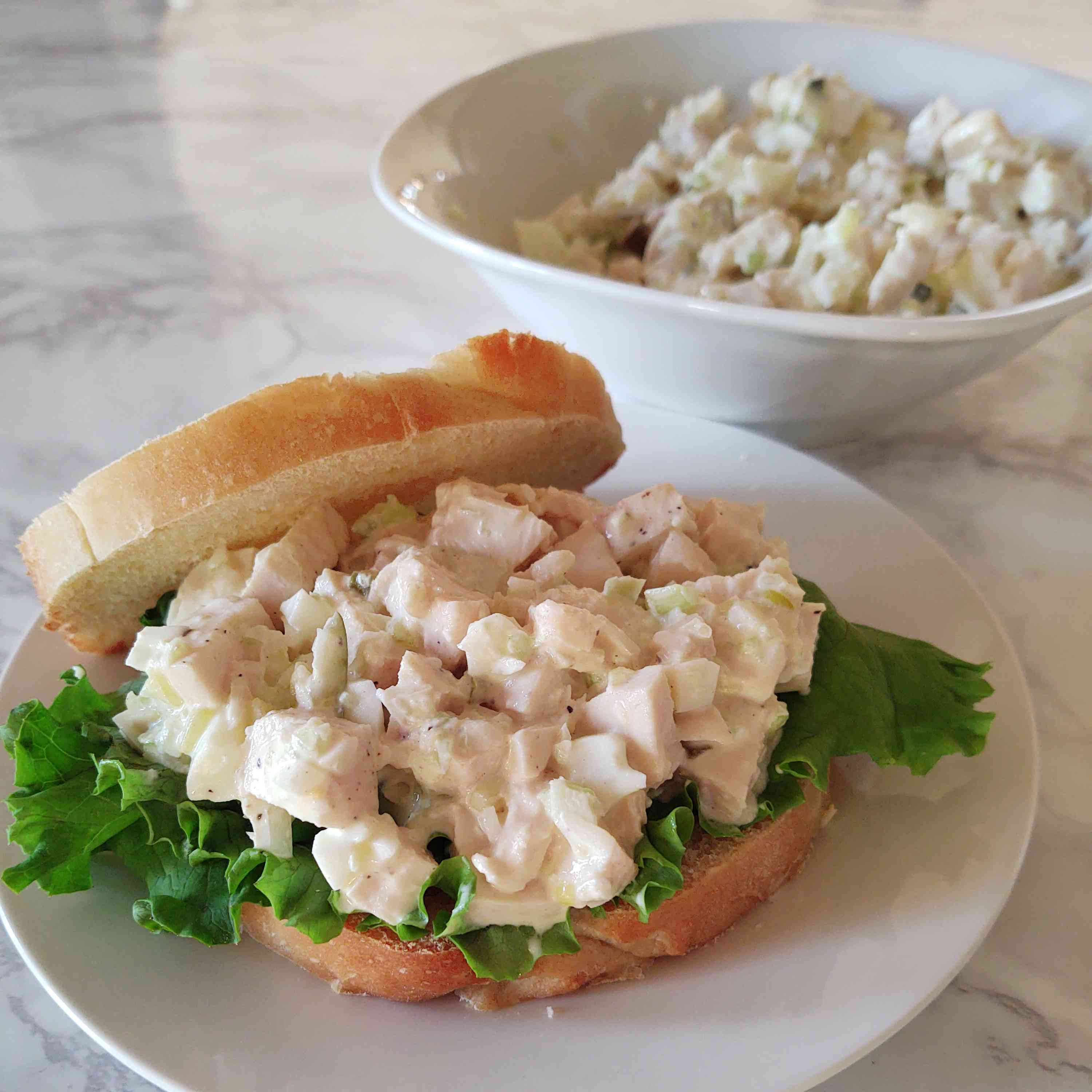 Classic Chicken Salad Sandwiches Tester Image