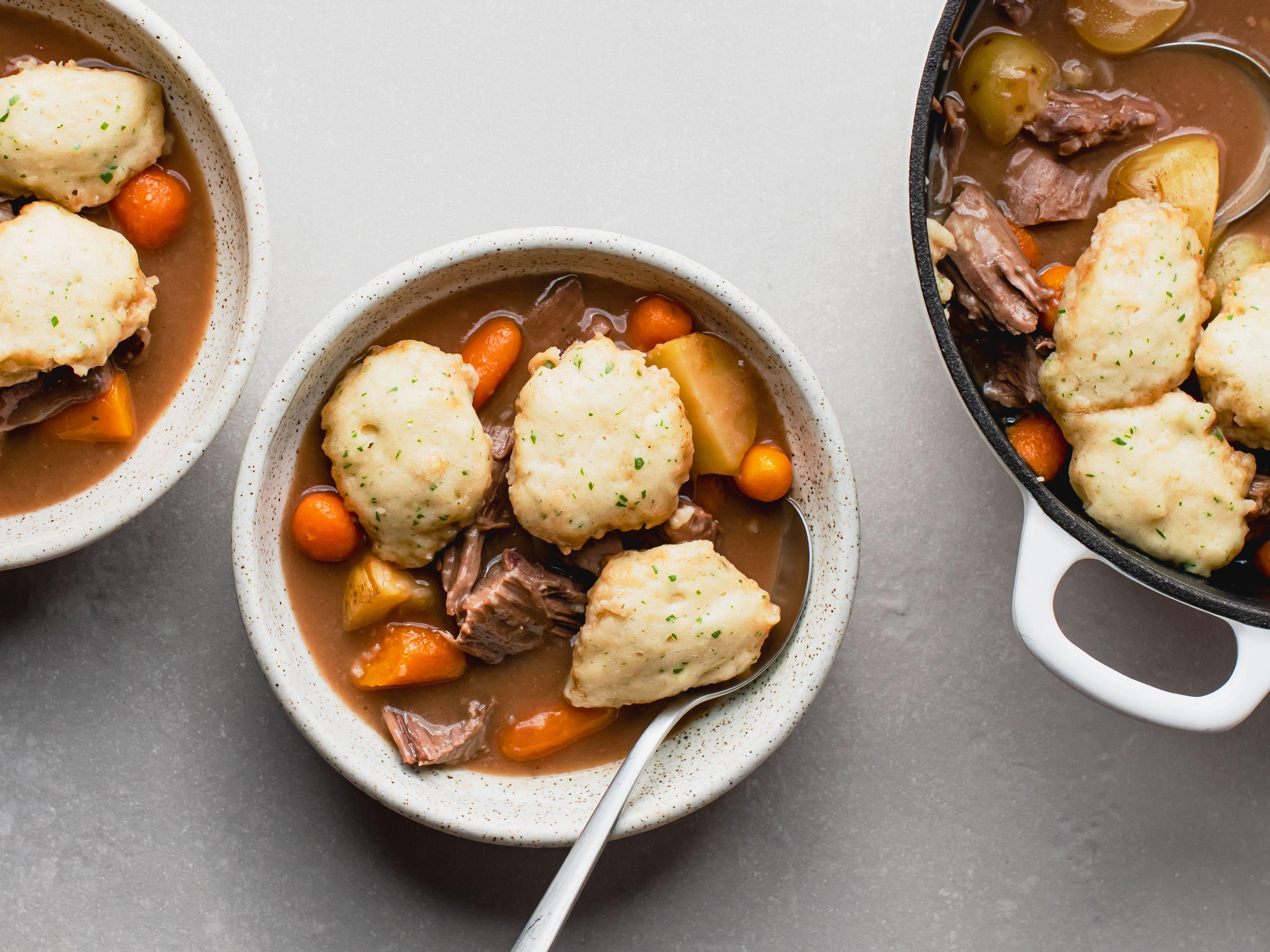 Easy Drop Dumplings for Stew