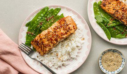 Thai-Flavored, Pan-Fried Salmon
