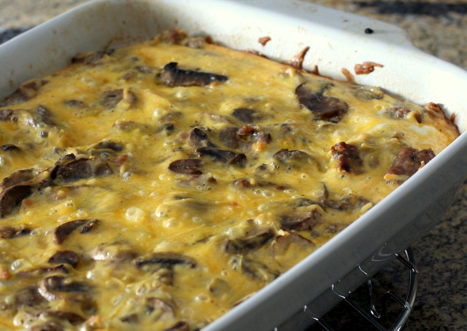 Breakfast Casserole With Sausage