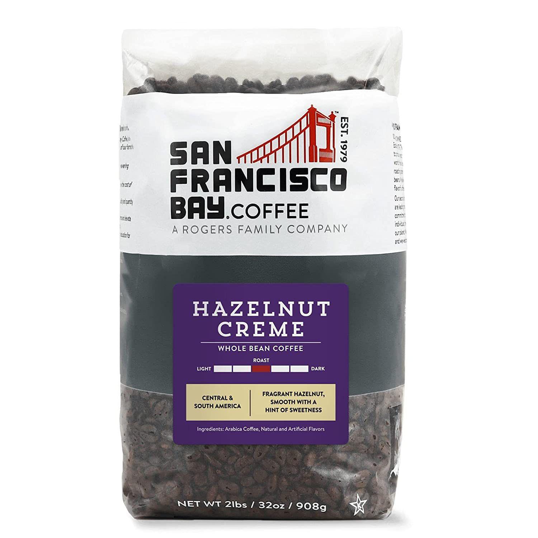 SF Bay Coffee Hazelnut Crème, Whole Bean