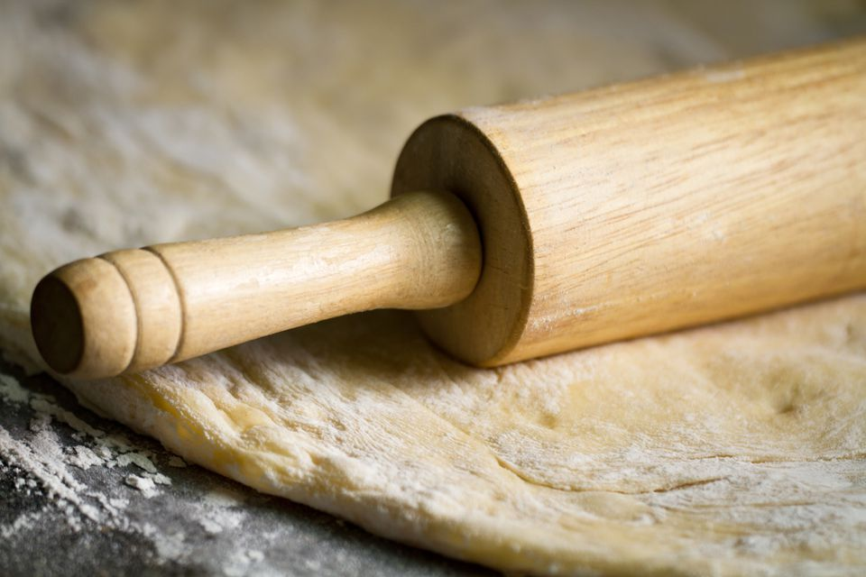 Rolling Pin and Dough