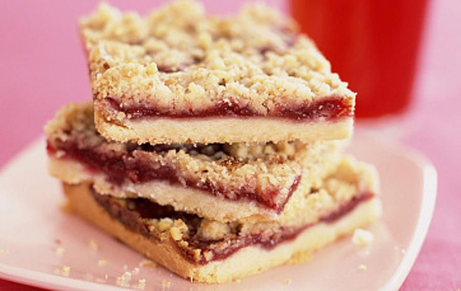 Raspberry/Cranberry Bars