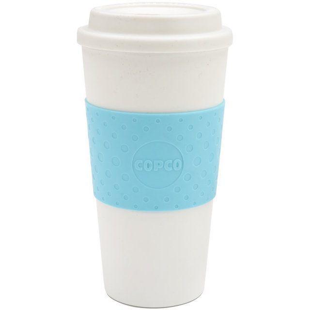 Copco 2510-9917 Acadia Travel Mug, 16-Ounce, Azure Blue