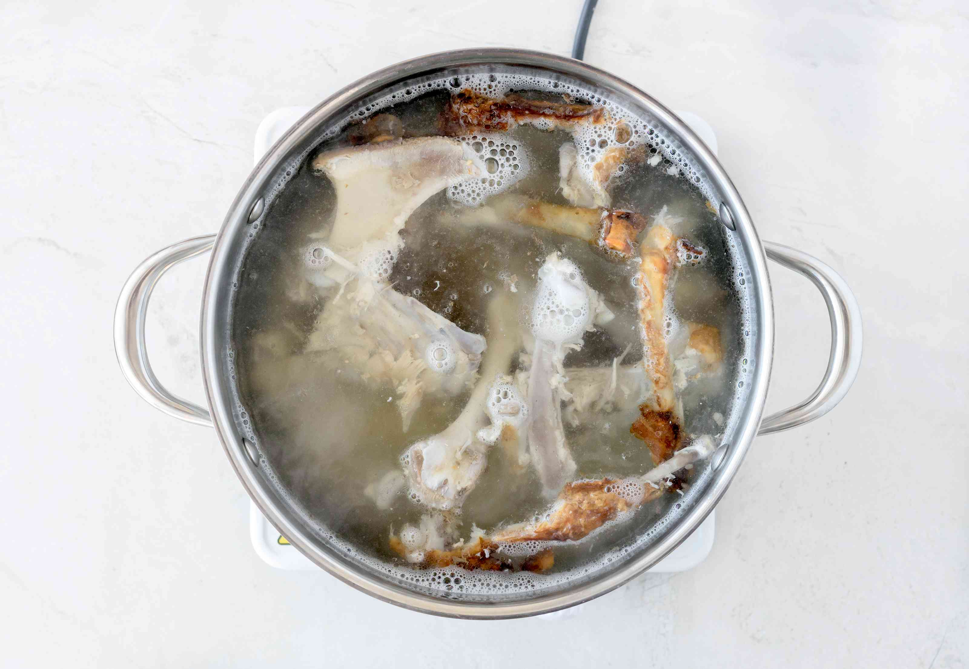 Bring pot to boil