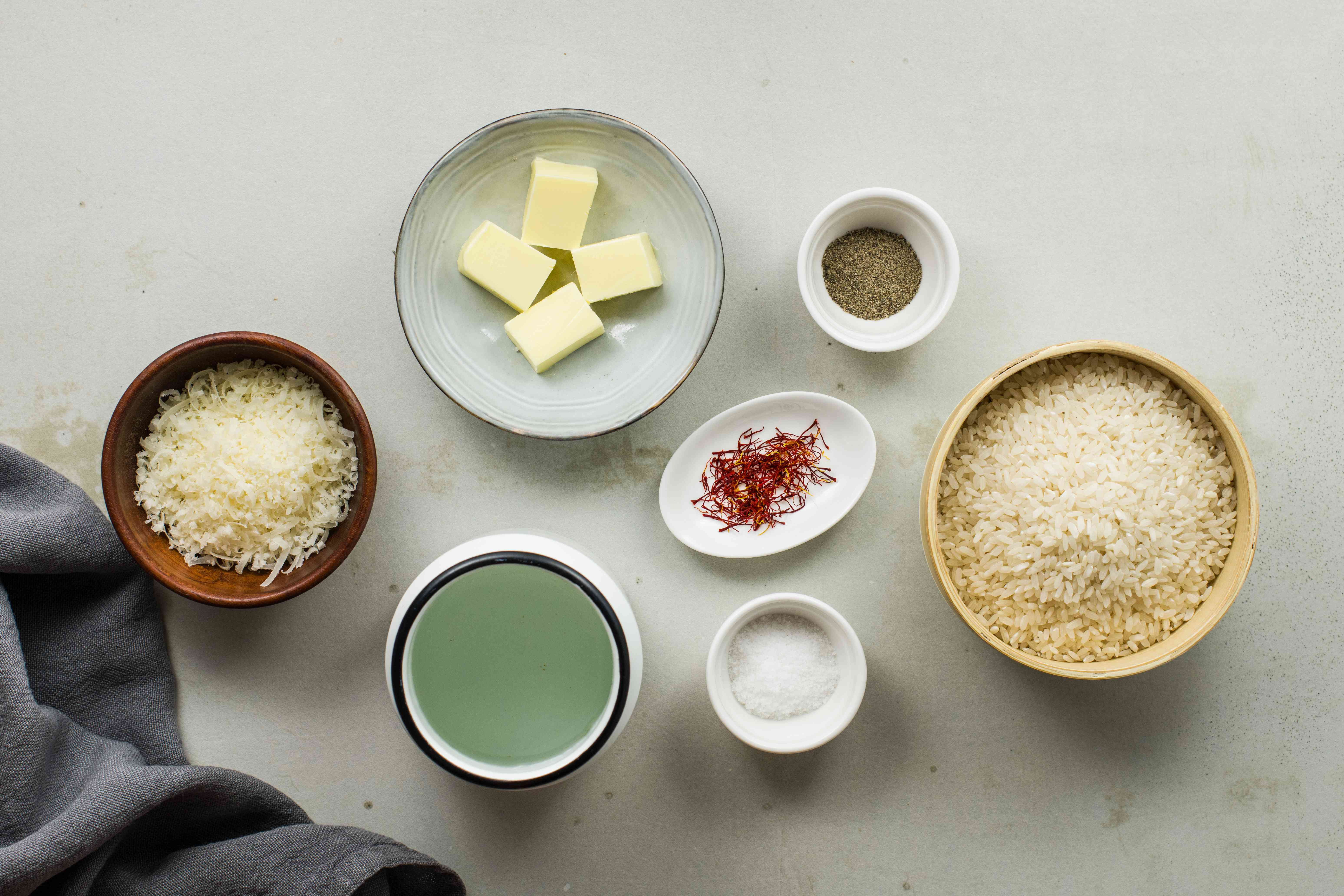 Ingredients for rice