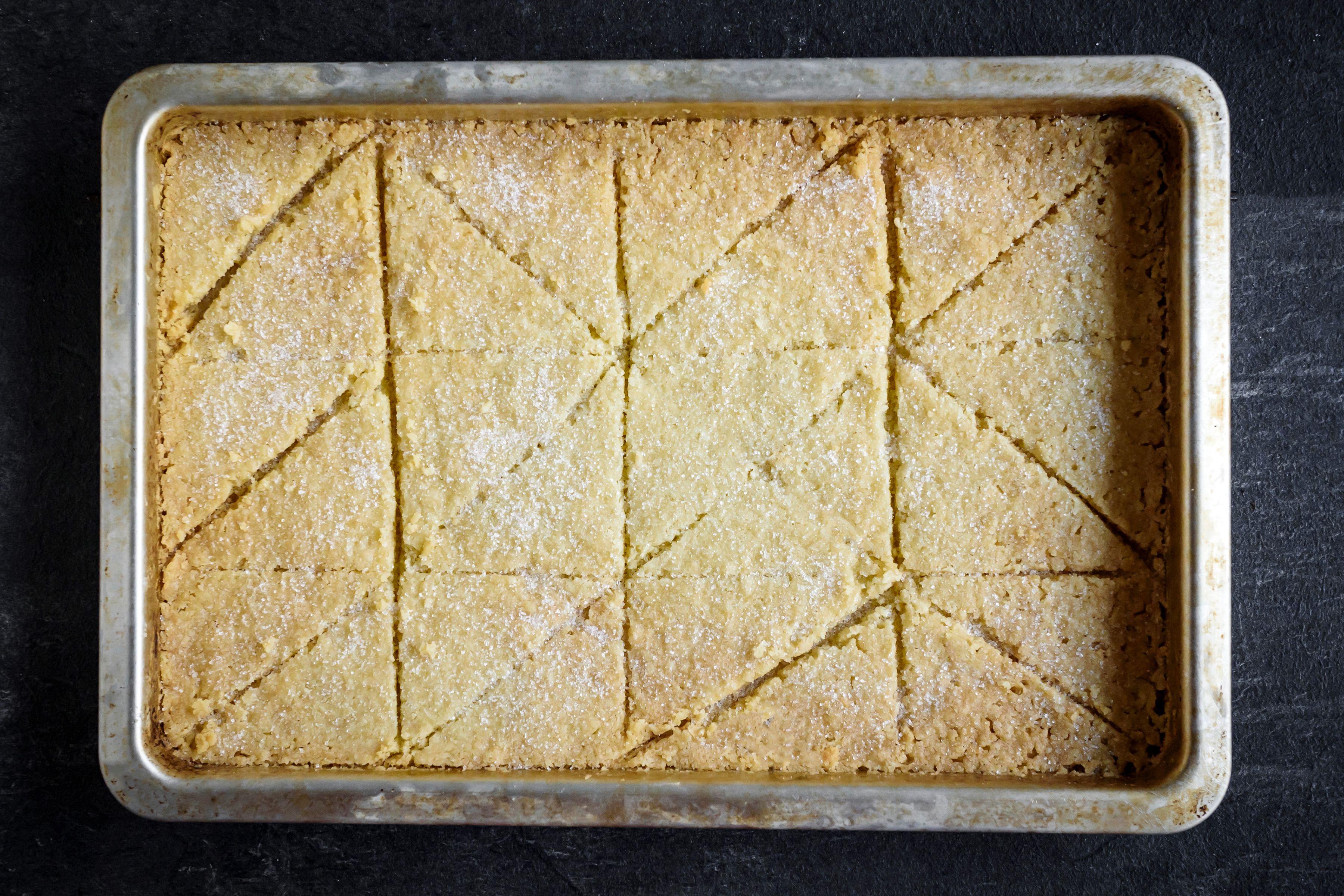 3-Ingredient Shortbread Recipe