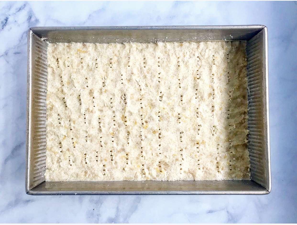 Freeze the prepared crust