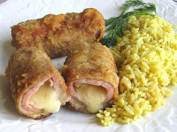 Romanian Pork Cordon Bleu