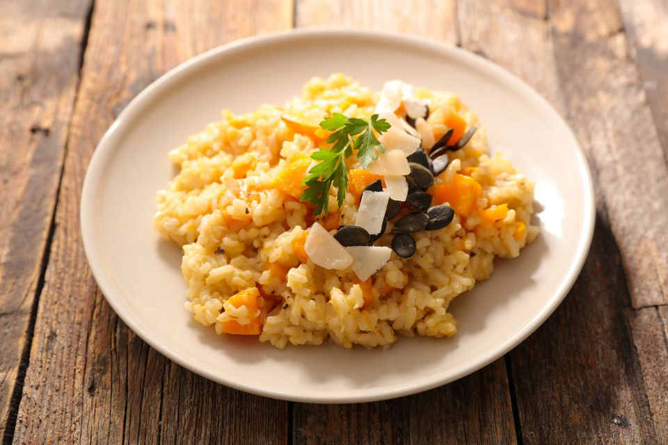 autumn risotto