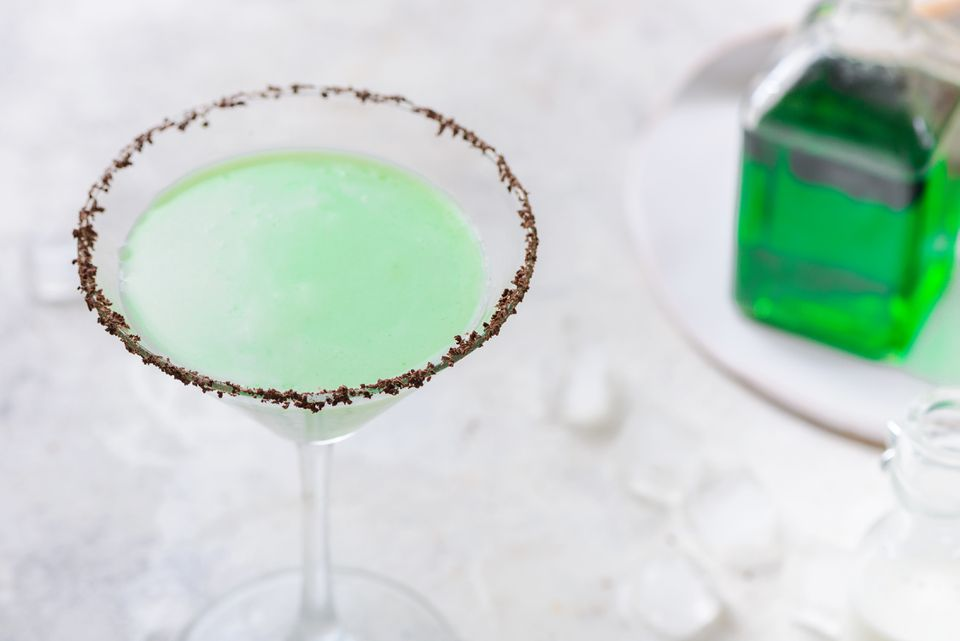 Grasshopper cocktail