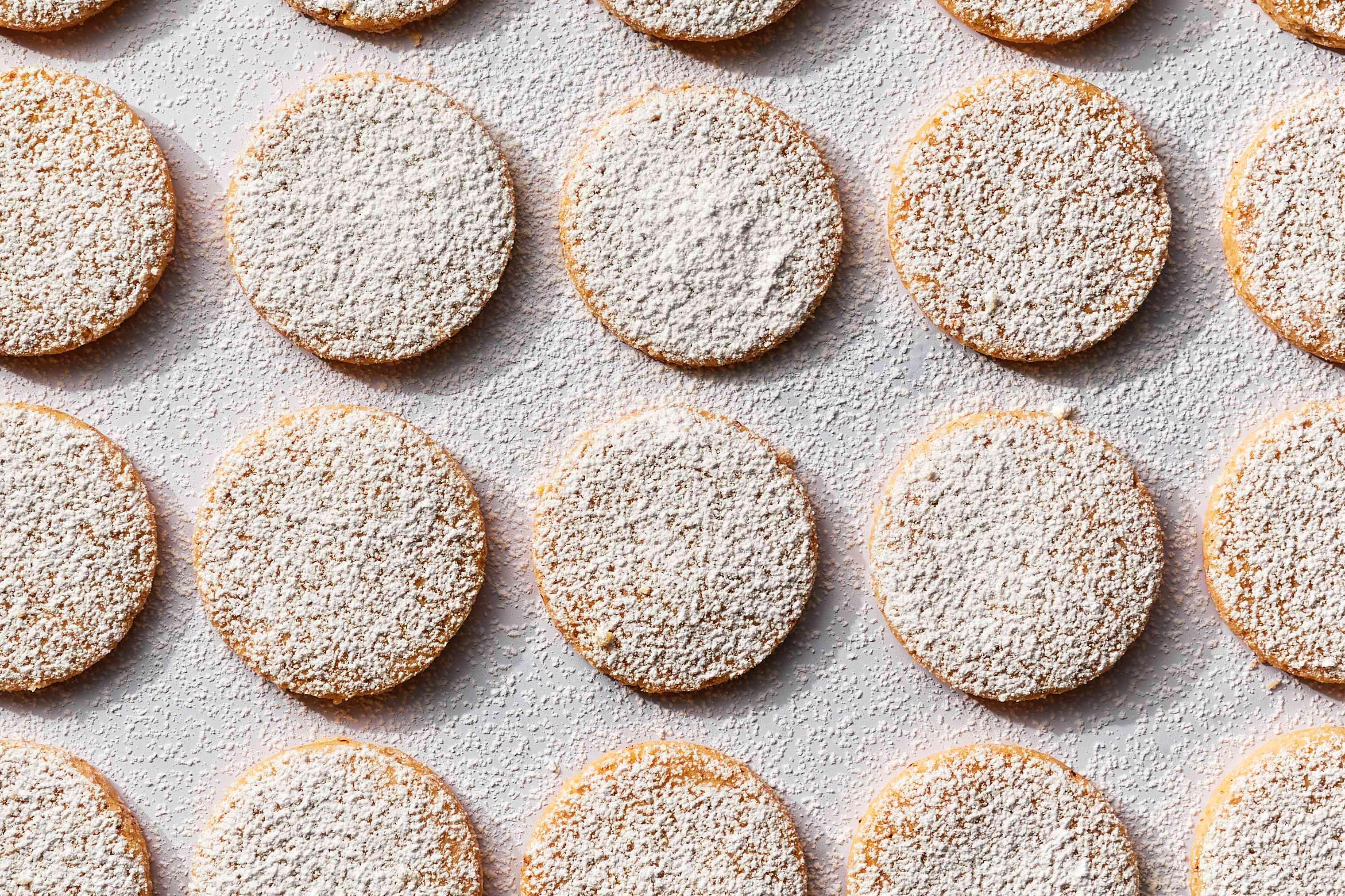 Polvorones: Spanish Almond Cookies