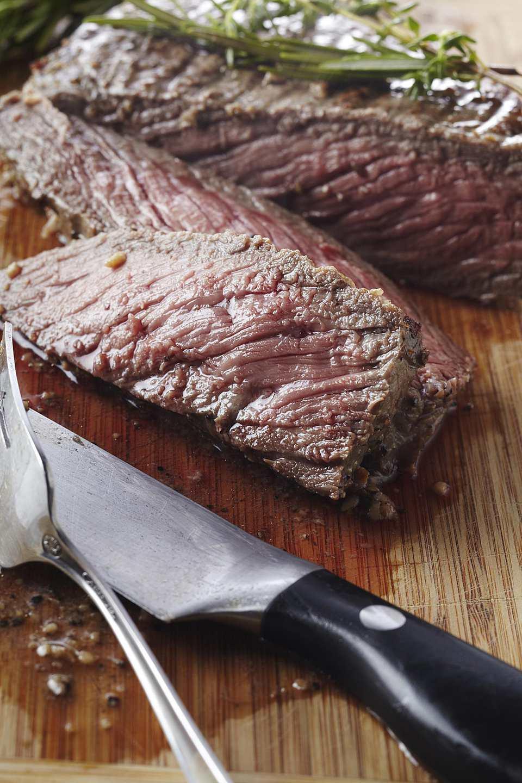 Grilled Garlic-Lemon Flank Steak