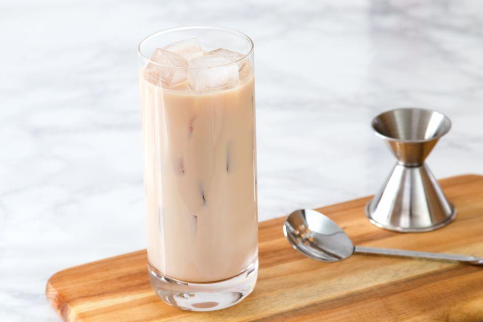 Spiked Vanilla Latte