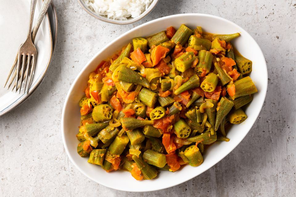 Spicy Okra and Tomatoes