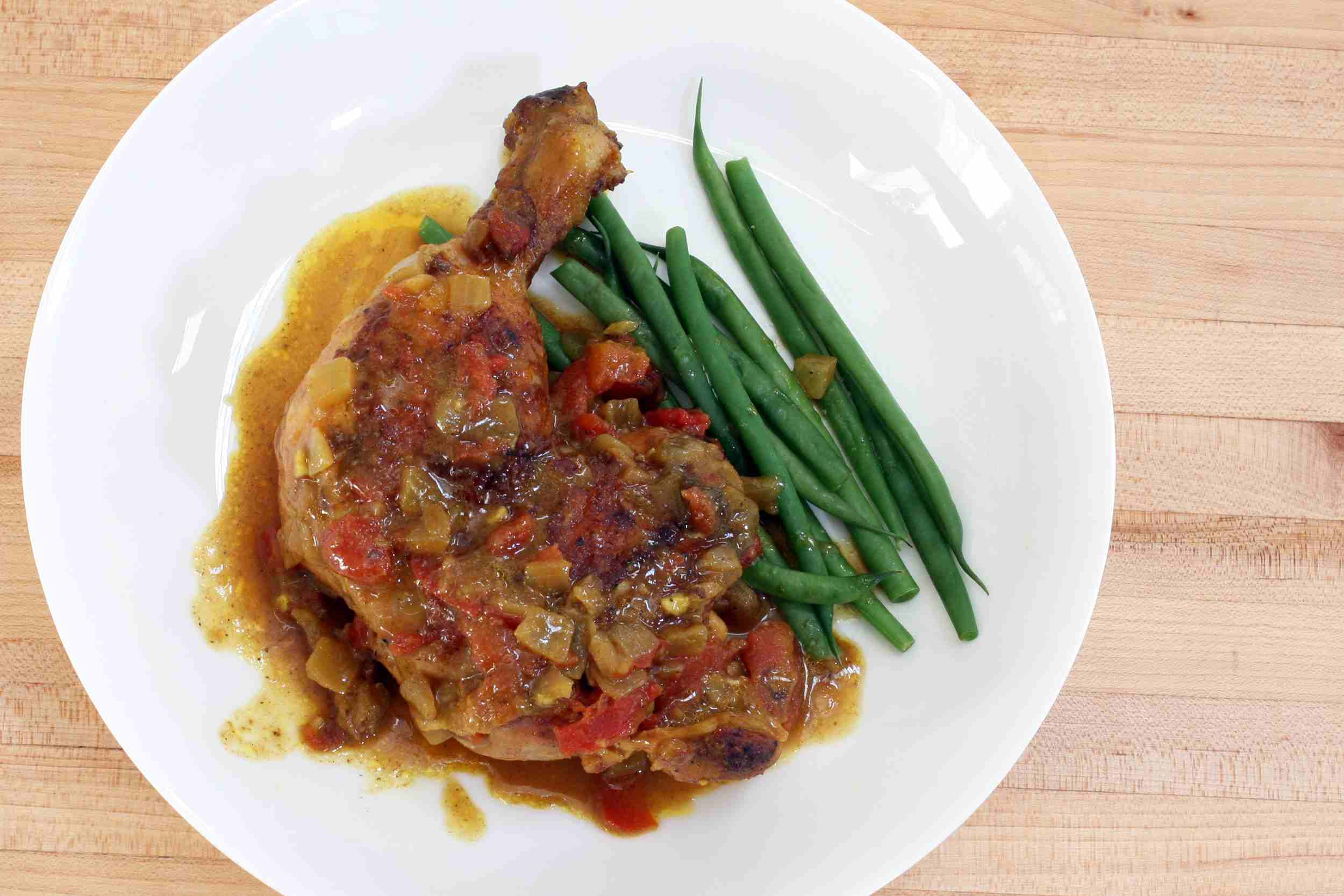 Coconut Curry Braised Chicken