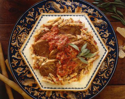 Crock pot Italian pork chops