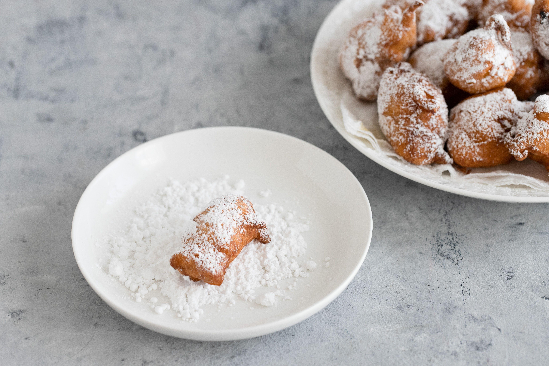 Roll in confectioner's sugar
