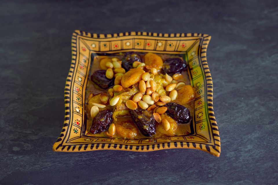 A fresh serving of prune tagine