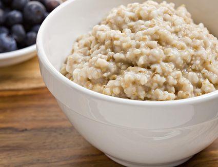 Low-calorie steel cut oats