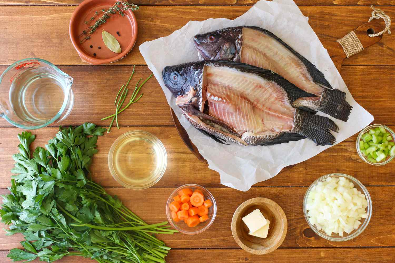 Fish Stock Ingredients