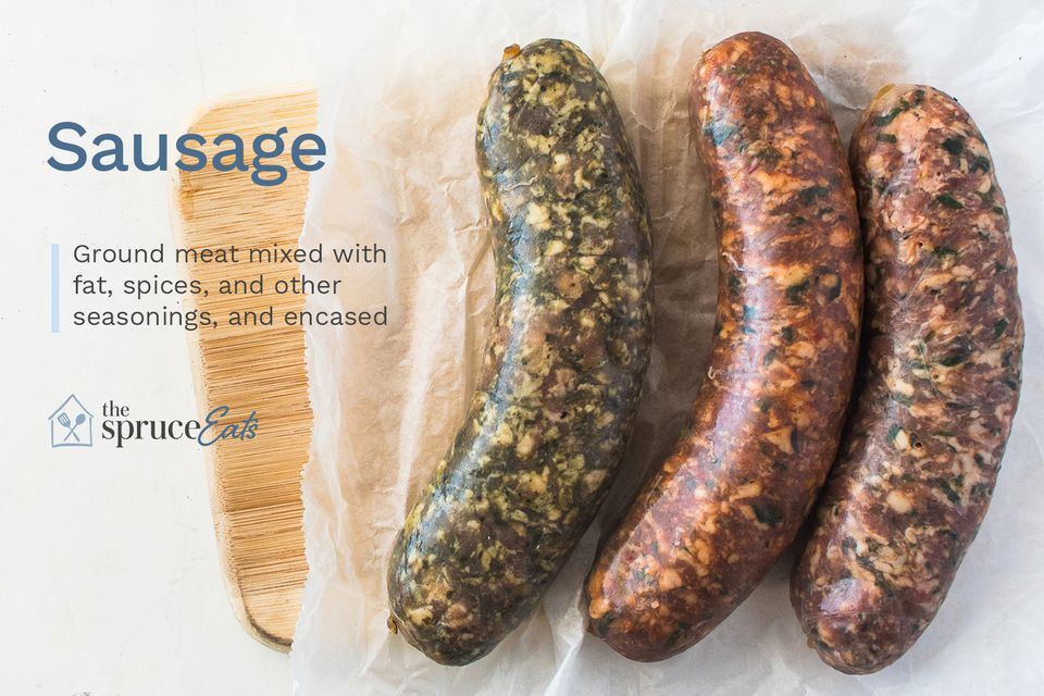 All about sausage graphic