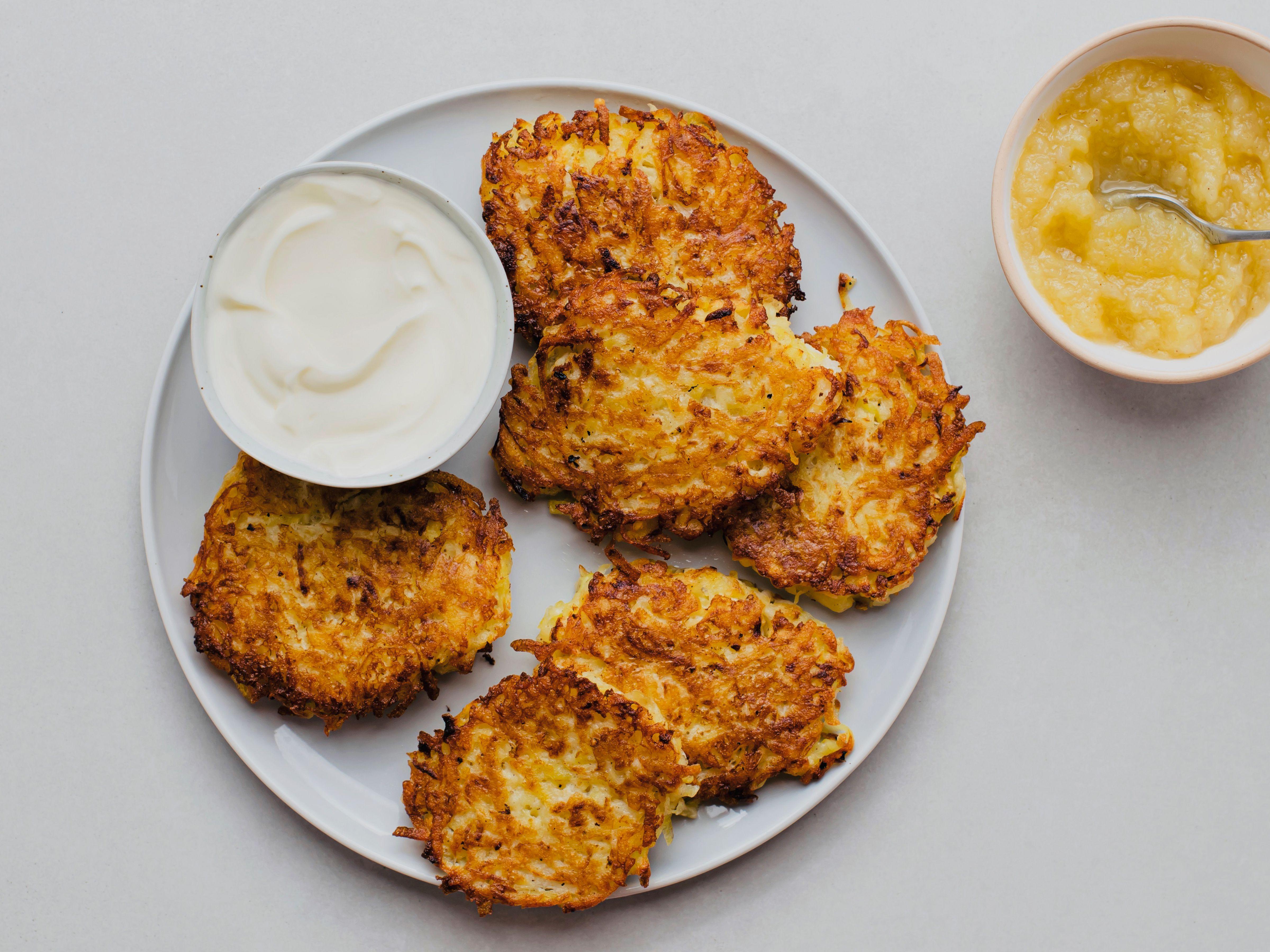 German Potato Pancakes Kartoffelpuffer Recipe