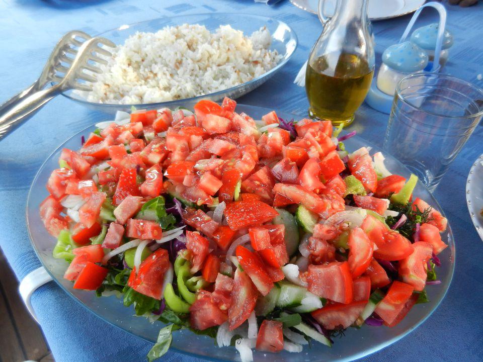 shepherd's salad çoban salatası